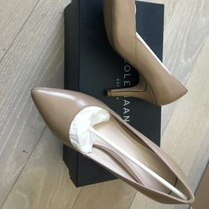 BRAND NEW! Cole Haan leather heels